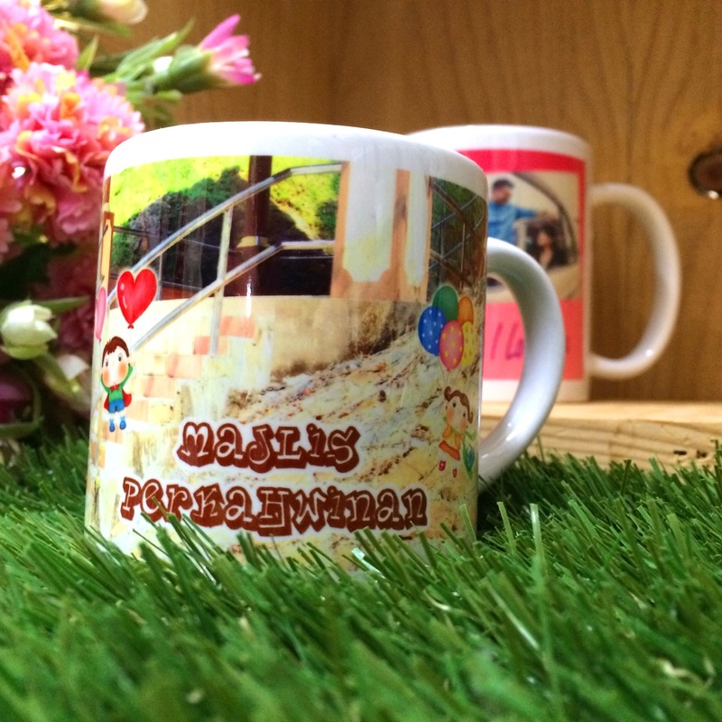 Personalized Mug (6oz)Unique Wedding Favors & Door Gifts with Wide ...
