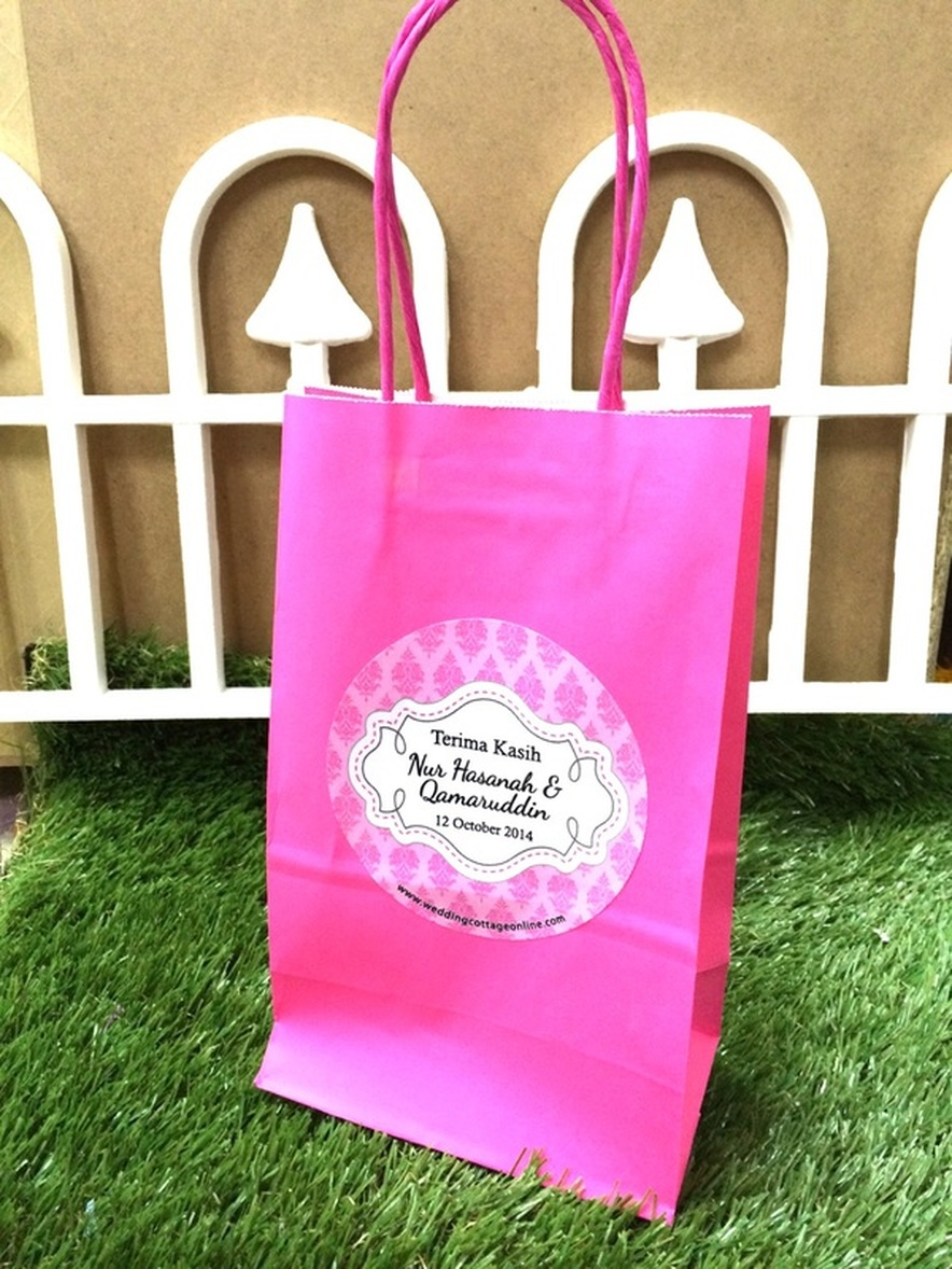 Kraft Paper Bags - Plain (Small) - Unique Wedding Favors & Door ...