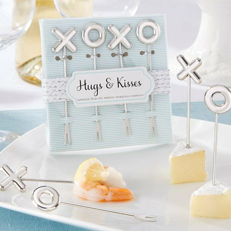 Hugs & Kisses Appetizer Pick - Unique Wedding Favors & Door Gifts ...