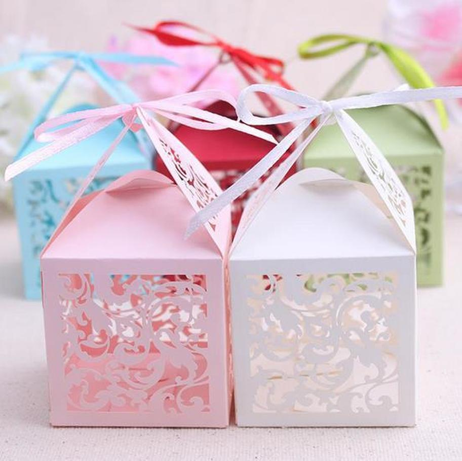 Laser Cut Favor Box - Unique Wedding Favors & Door Gifts with Wide ...