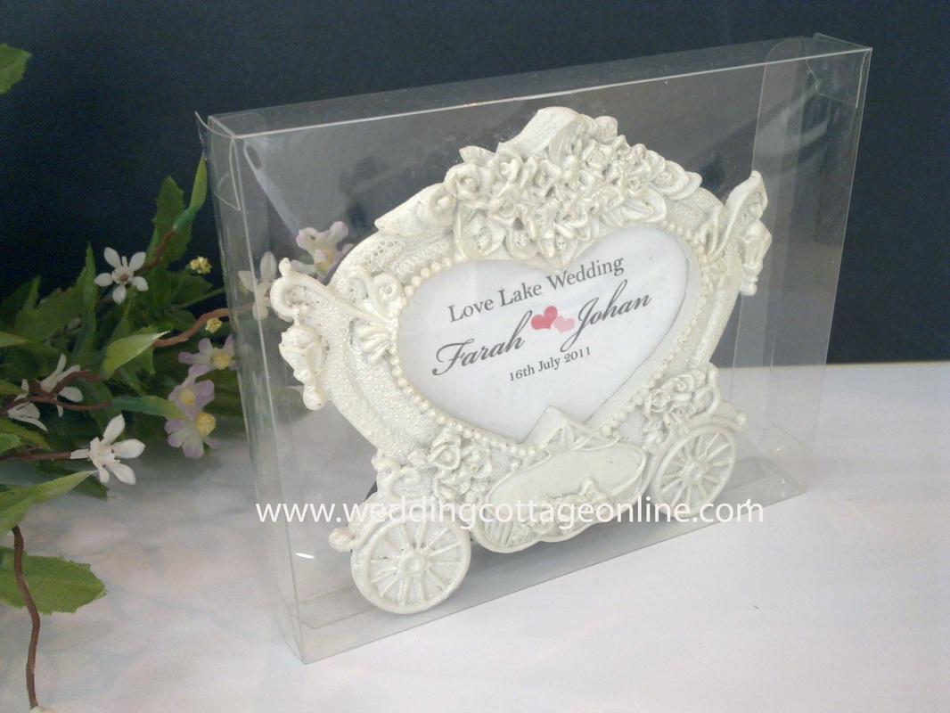 Clear PVC Box (Frame) 13cm x 11cm x 2cm (Carriage Photo Frame Not ...