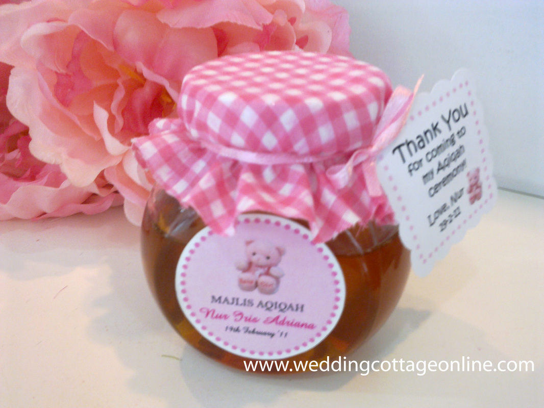 Personalized Honey Jar (Spice Glass Jar)